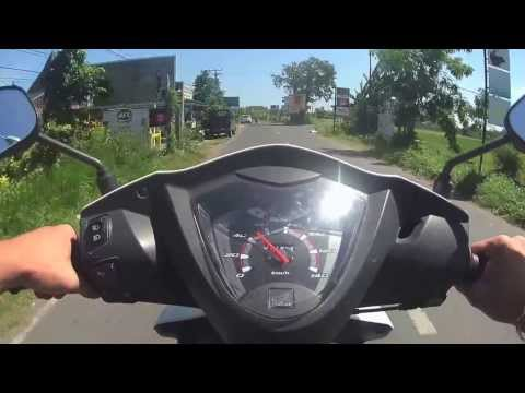 Bali motorbike ride from Seminyak to Tabanan (Mountain) Part I by Isaw A3  EXtreme 720p