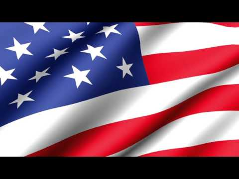 [10 Hours] 4th of July | American Flag Waving (Animated) Video & Audio [1080HD] SlowTV