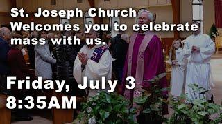 July 3 2020 - 8:35 AM Mass