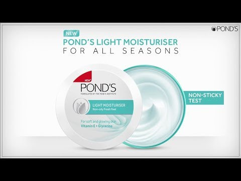 New Pond's Light Moisturiser