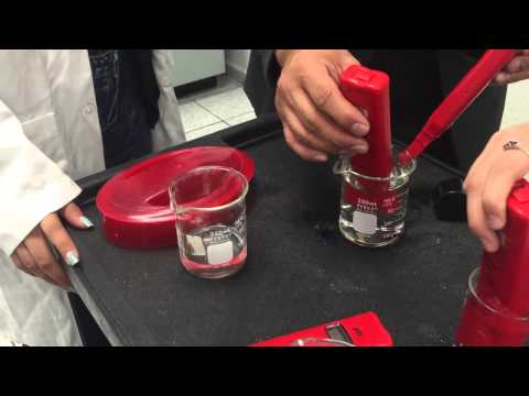 Chemistry Lab Video: Solutions