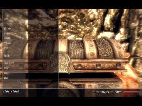 Bring the Supplies to High Hrothgar - Ivarstead Misc Quest - Elder Scrolls 5 Skyrim