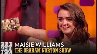 Maisie Williams Is On Her Very Own Stamp - The Graham Norton Show