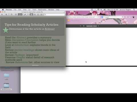 How to review a scholarly article for academic papers