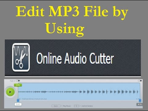 How to Edit Mp3 Songs By using Online Audio cutter Website