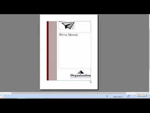 How to Create Top-Fold Invitations in Microsoft Publisher : Microsoft Graphic Design Programs