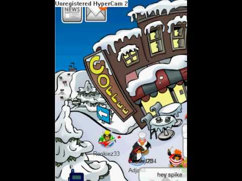 How to sit in the corner of a room on club penguin