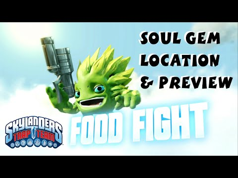 Food Fight Soul Gem Preview and Location 1080P 60 fps - Skylanders Trap Team