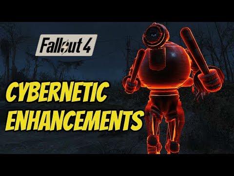 Cyborg: Cybernetic Enhancements   A Fallout 4 mod  