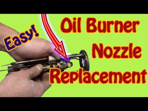How to Replace an Oil Burner Nozzle - - Biasi Boiler and Riello Burner Maintenance Part 3