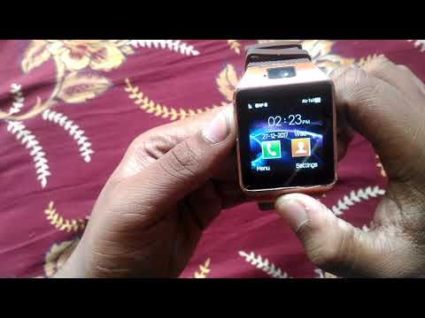 How to connect to internet Dz09 smart watch