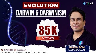 DARWIN AND DARWINISM : EVOLUTION (Lecture 2) #EVOLUTION #CSIR #LIFESCIENCE #BIOLOGY #DARWIN