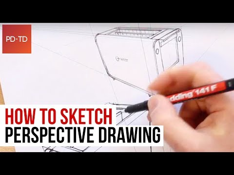 How to Sketch: Perspective Drawing