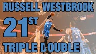 Westbrook Posts Triple Double #21 | 01.18.17