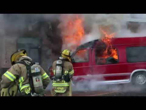 Commercial Structure Fire - McDonald's on General Booth Blvd. June 5, 2015