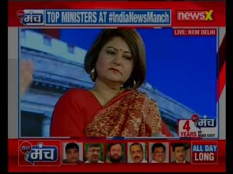 Biggest conclave on Indian TV: 4 years of PM Modi Govt., Top BJP Ministers at India News Manch