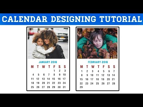 How to make a Calendar in Photoshop CC, CS6