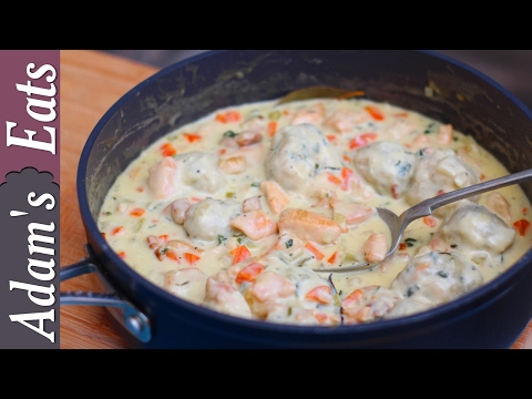 How to make chicken and dumplings | American chicken and dumplings