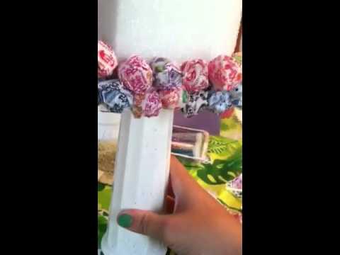 How to make a lollipop tree