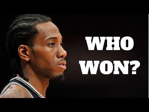 Who Won The Kawhi Leonard Trade?