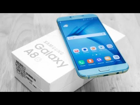Samsung's Galaxy A8 phones Hands-on