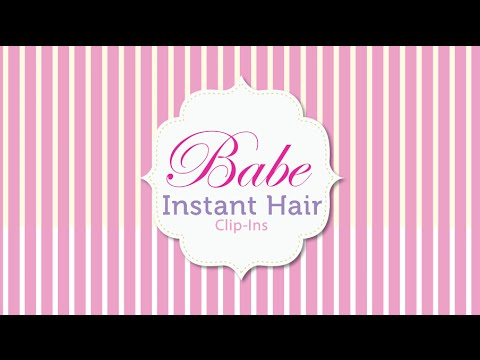 How to Install Babe Instant Hair Clip-Ins