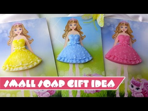 How to make soap gift card - DIY Soap Making Idea
