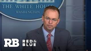 Mulvaney: Probing 2016 election was a factor in withholding Ukraine aid