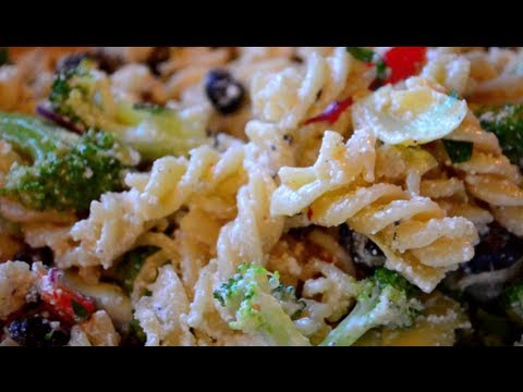 Pasta Salad Recipe | Fast & Simple!