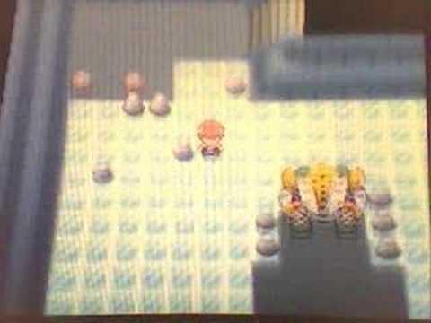 Pokemon Diamond Catching Regigigas(Clearer)