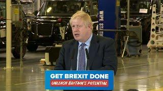 Campaign Live: Boris Johnson delivers first major election campaign speech | ITV News