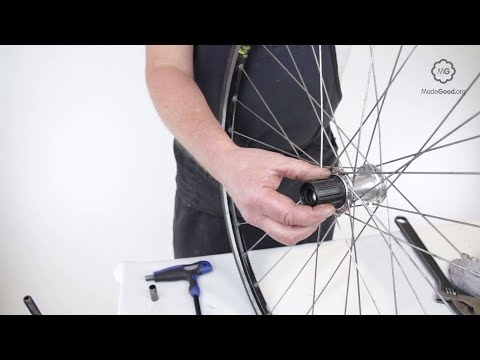 Mount A Bike Wheel's Freehub Body