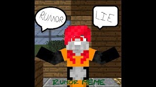 RUMORS - ORIGINAL MEME [Minecraft Animation]