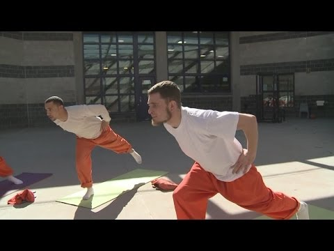 Yoga, mindfulness classes offered to inmates