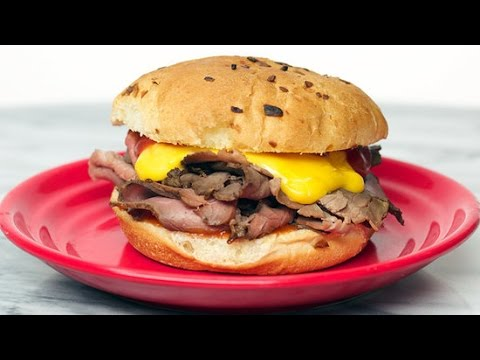 How to Make Arby's Roast Beef and Cheddar Sandwich at Home
