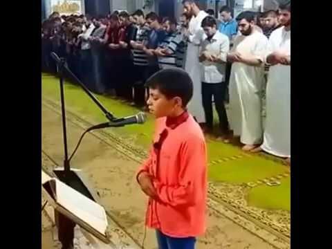 Luar Biasa Merdu Suara Anak Ini yang Menjadi Imam Shalat