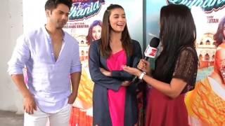 Varun Dhawan and Alia Bhatt for Badrinath ki Dulhaniya