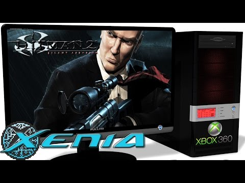 XENIA Xbox 360 Emulator - Hitman 2: Silent Assassin HD. Ingame. OpenGL. Test #1