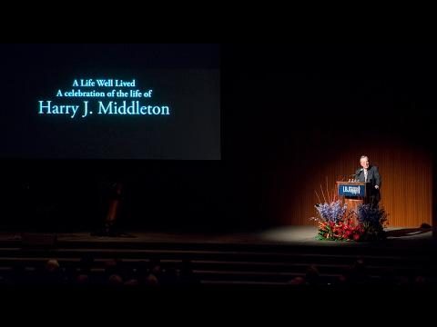 Harry Middleton Memorial Service