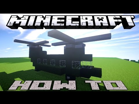 Minecraft: Chinook Helicopter ( Xbox/Playstation/PE/PC )