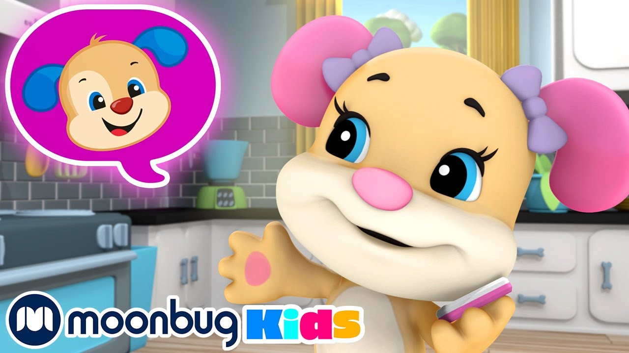 Calling a Friend Song!   Laugh & Learn with Fisher Price   ABCs & 123s Educational Cartoons for Kids