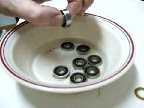 Cleaning Skateboard Bearings