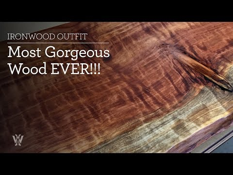 Most Gorgeous Wood EVER!!!