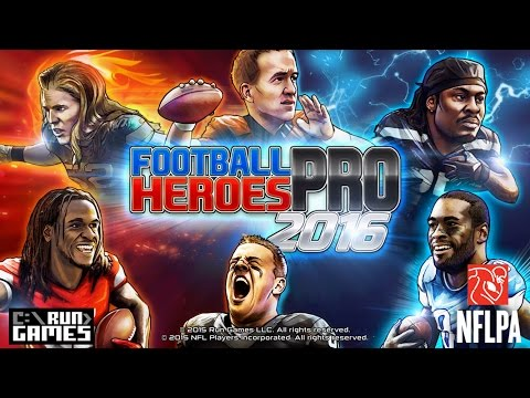 Football Heroes PRO 2016 - Unlimited Money! - Nvidia Shield!  Who's Ready For Some Football!?