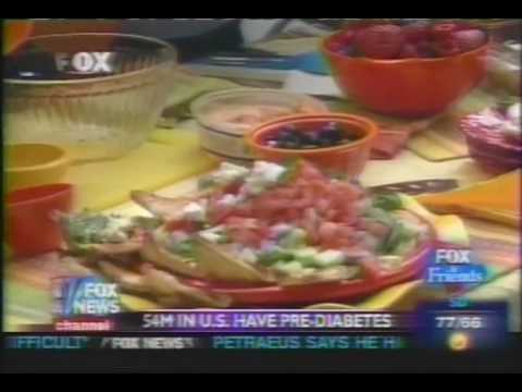 Holly Clegg's Cooking Recipes: Fox News Interview