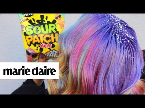 Sour Patch Hair is the Sweetest Trend Yet | Marie Claire