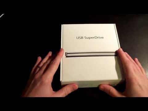 Apple USB Superdrive (Installation on Macbook Pro)
