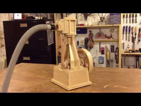 Wood Air/Vacuum Engine