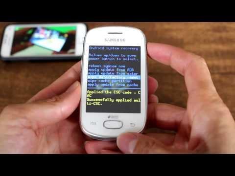 Como Formatar SAMSUNG GALAXY STAR S5280 / S5282 || Hard Reset, Desbloquear. G-Tech