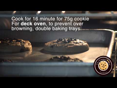 The Yummy Cookie: How to cook our Jumbo cookie